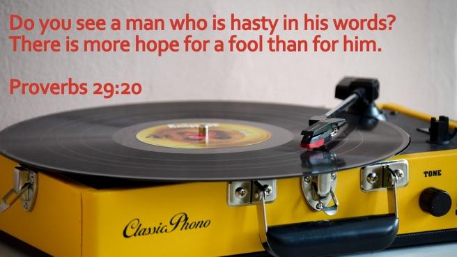 Proverbs 29-20